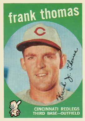 1959 Topps Frank Thomas #490 Baseball Card