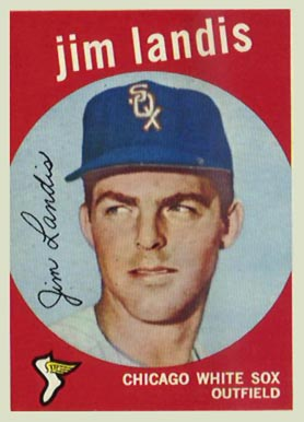 1959 Topps Jim Landis #493 Baseball Card