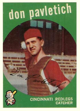 1959 Topps Don Pavletich #494 Baseball Card