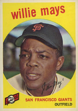 1959 Topps Willie Mays #50 Baseball Card