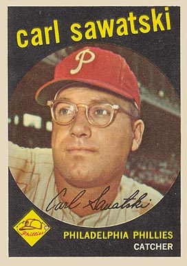 1959 Topps Carl Sawatski #56 Baseball Card