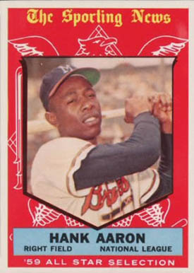 1959 Topps Hank Aaron #561 Baseball Card