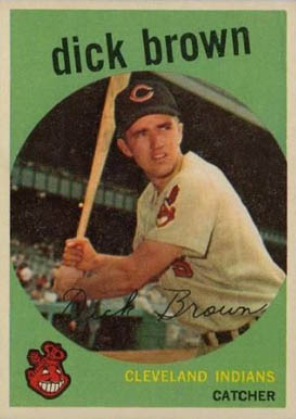1959 Topps Dick Brown #61 Baseball Card