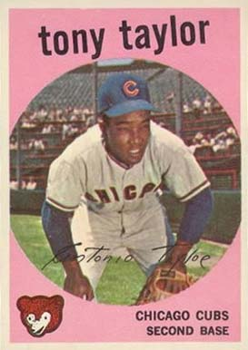 1959 Topps Tony Taylor #62 Baseball Card