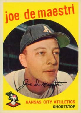 1959 Topps Joe DeMaestri #64 Baseball Card