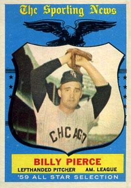 1959 Topps Billy Pierce #572 Baseball Card
