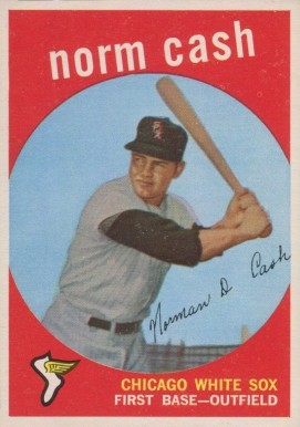 1959 Topps Norm Cash #509 Baseball Card