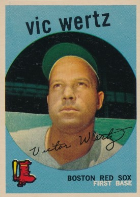 1959 Topps Vic Wertz #500 Baseball Card
