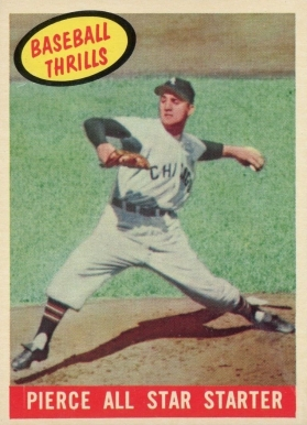 1959 Topps Pierce All Star Starter #466 Baseball Card