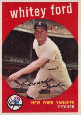 1959 Topps Whitey Ford #430 Baseball Card