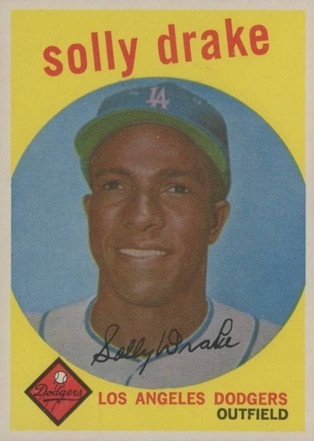 1959 Topps Solly Drake #406 Baseball Card