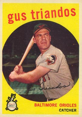 1959 Topps Gus Triandos #330 Baseball Card