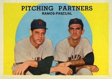 1959 Topps Pitching Partners #291 Baseball Card