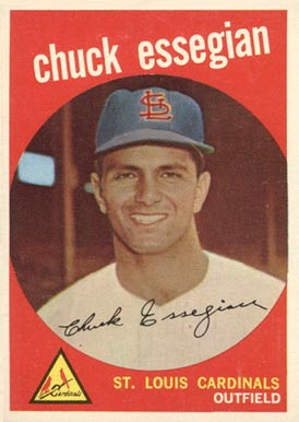 1959 Topps Chuck Essegian #278 Baseball Card