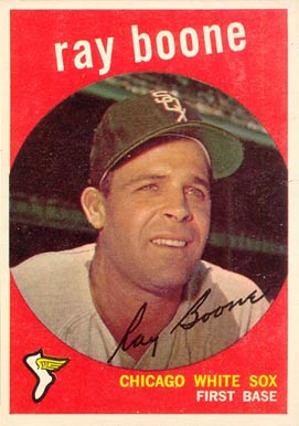 1959 Topps Ray Boone #252 Baseball Card