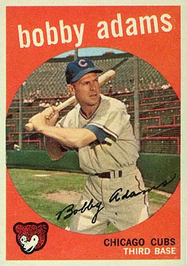 1959 Topps Bobby Adams #249 Baseball Card