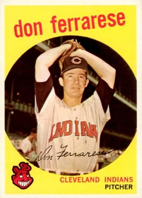 1959 Topps Don Ferrarese #247 Baseball Card