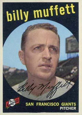 1959 Topps Billy Muffett #241 Baseball Card