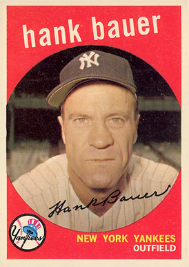 1959 Topps Hank Bauer #240 Baseball Card