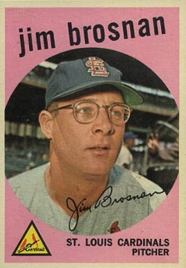 1959 Topps Jim Brosnan #194 Baseball Card