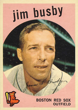 1959 Topps Jim Busby #185 Baseball Card