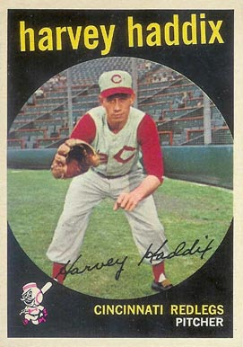 1959 Topps Harvey Haddix #184 Baseball Card