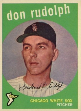 1959 Topps Don Rudolph #179 Baseball Card