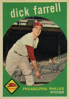 1959 Topps Dick Farrell #175 Baseball Card
