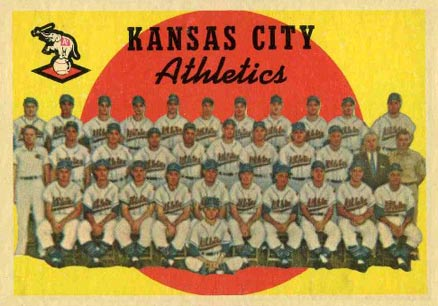 1959 Topps Kansas City Athletics #172 Baseball Card