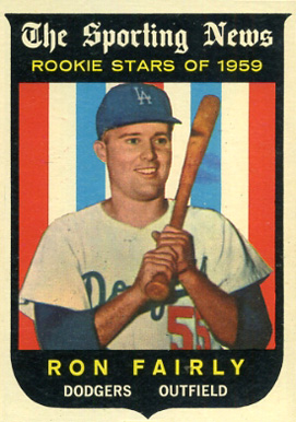 1959 Topps Ron Fairly #125 Baseball Card