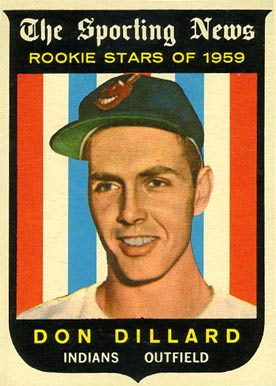 1959 Topps Don Dillard #123 Baseball Card