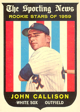 1959 Topps Johnny Callison #119 Baseball Card