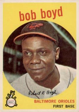 1959 Topps Bob Boyd #82 Baseball Card Value Price Guide