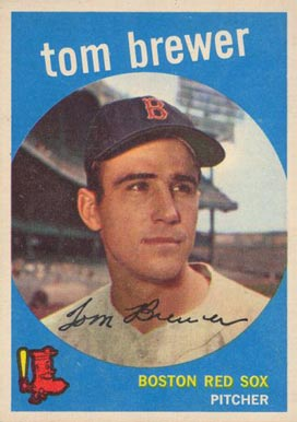 1959 Topps Tom Brewer #55 Baseball Card