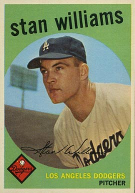 1959 Topps Stan Williams #53 Baseball Card