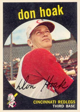 1959 Topps Don Hoak #25 Baseball Card