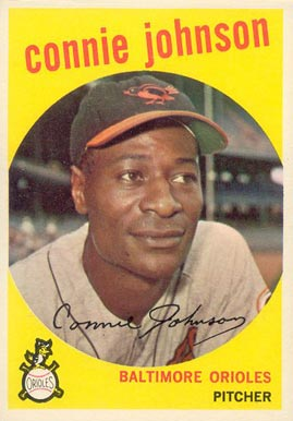 1959 Topps Connie Johnson #21 Baseball Card