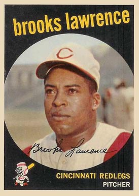 1959 Topps Brooks Lawrence #67 Baseball Card