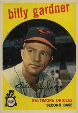1959 Topps Billy Gardner #89 Baseball Card