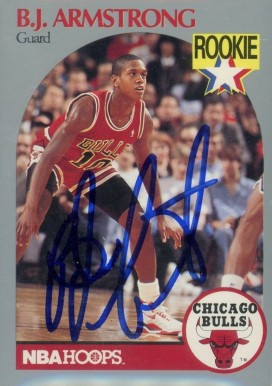 Bj Armstrong Basketball Cards