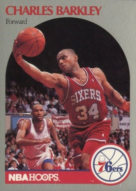1990 Hoops Charles Barkley #225 Basketball Card