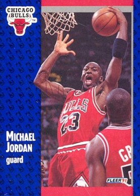 1991 Fleer Michael Jordan #29 Basketball Card