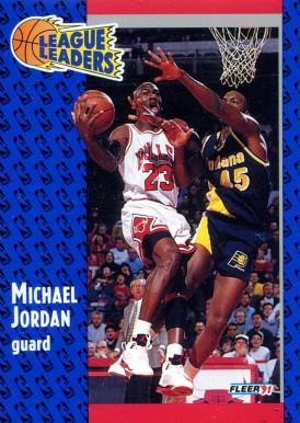 1991 Fleer Michael Jordan #220 Basketball Card Value Price Guide