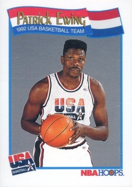 1991 Hoops Patrick Ewing #577 Basketball Card