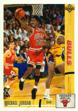 1991 Upper Deck Michael Jordan #44 Basketball Card