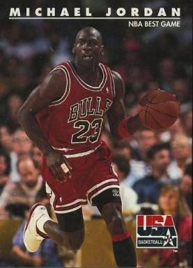 1992 Skybox Usa Michael Jordannba Best Game 40 Basketball Vcp