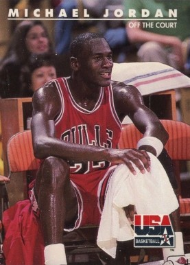 1992 Skybox USA Michael Jordan #41 Basketball Card
