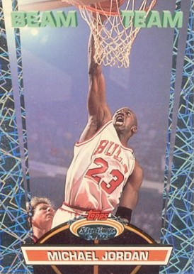 1992 Stadium Club Beam Team Michael Jordan #1 Basketball Card