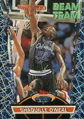1992 Stadium Club Beam Team Shaquille O'Neal #21 Basketball Card