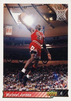 1992 Upper Deck Michael Jordan #23 Basketball Card